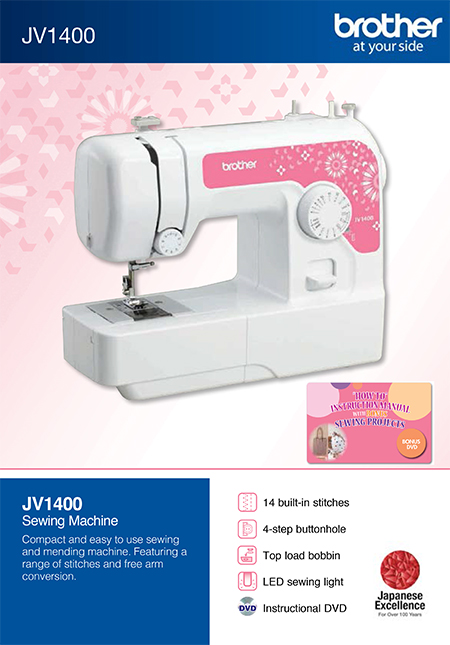 brochure brother JV-1400